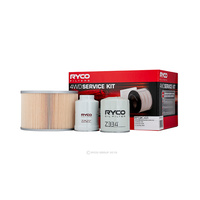 Oil Air Fuel Filter Service Kit Ryco RSK41 Suitable for TOYOTA LAND CRUISER, HZJ105, 4.2 D (HZJ105) 03/98-08/07