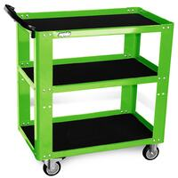 SP Tools Tool Trolley Green SP Professional 3 Shelf SP40019GR