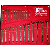 26Pc. Metric Pro-Line Combination Wrench Set 6mm-32mm