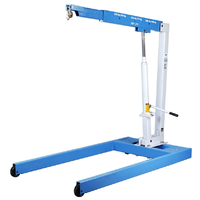 2200lb. Mobile Floor Crane T&E Tools 2-1815