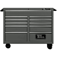 "Roller Tool Cabinet 47"" Godfather 11 Drawer Toolbox Black T&E Tools TE-GF4711BK"