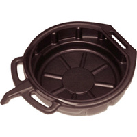 16 Litre Oil Drain Tray with Nozzle T&E Tools WH082