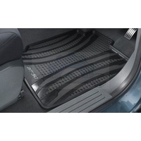 Floor Mats Rubber set of 4 suitable for Mazda BT50 2011-2016 DC BLACK accessories New Genuine