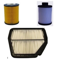SERVICE KIT DIESEL OIL AIR FUEL FILTERS ACDelco suitable for HOLDEN CRUZE 2.0l JG JH 2009-