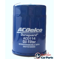 Oil Filter AC0114 ACDelco suitable for Hyundai iload & imax diesel models Z630