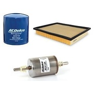 Service kit OIL AIR FUEL FILTERS ACDelco suitable for VZ COMMODORE V8 HOLDEN new