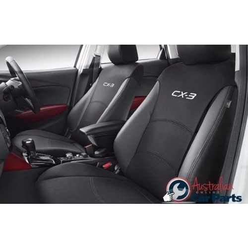 Front Pair of Seat Covers set suitable for Mazda CX32015- accessories DK11ACSCF New Genuine